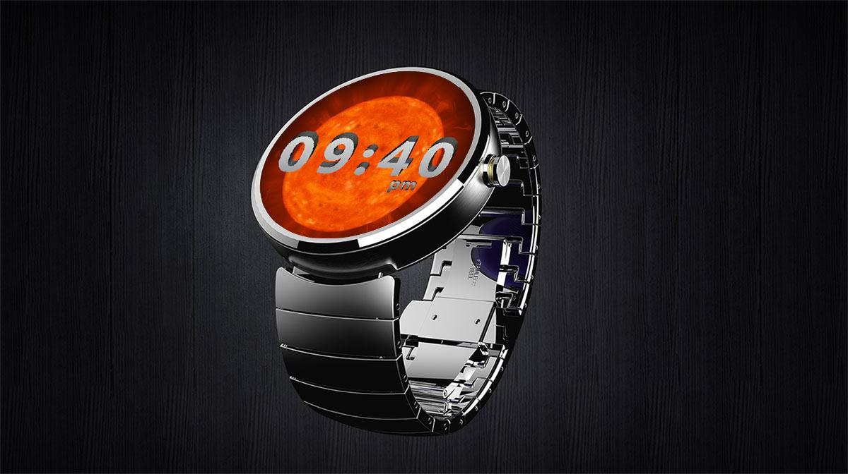 Time 3D Watch Face- screenshot
