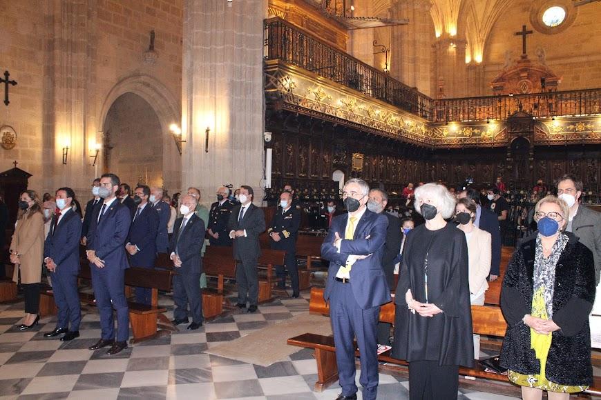 Asistentes a la toma de posesión como obispo coadjutor de Almería, Antonio Gómez.