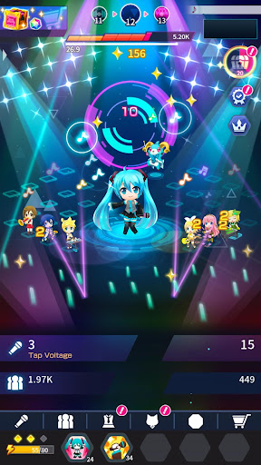 Hatsune Miku - Tap Wonder modavailable screenshots 6