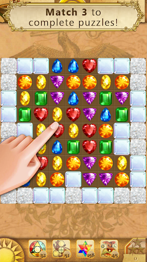 Clash of Diamonds - Match 3 Jewel Games