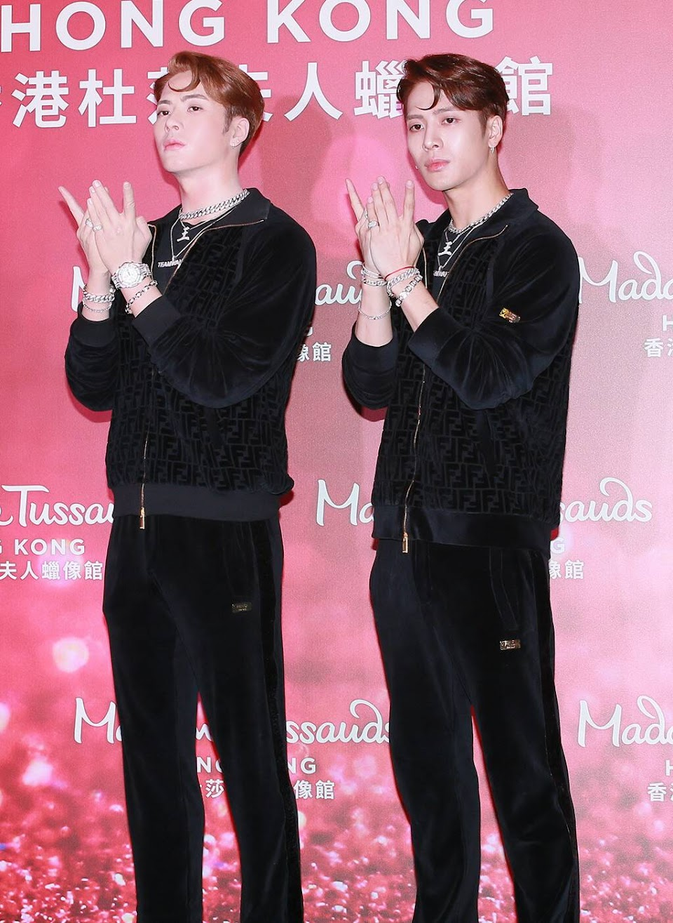 GOT7 Jackson Wang Madame Tussauds