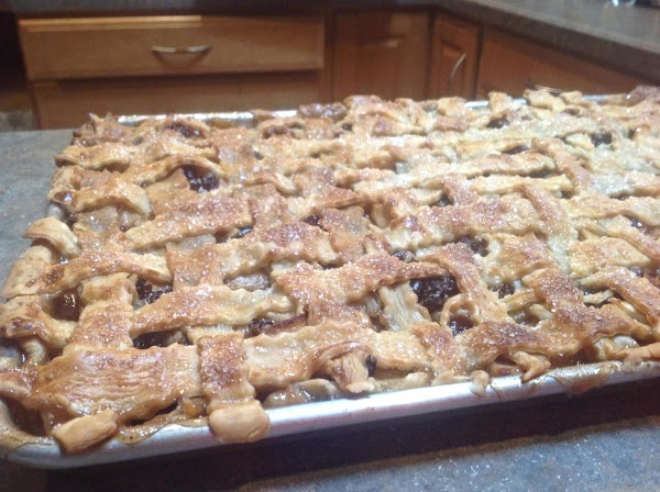 Cranberry Apple Slices W/lattice Top Crust Recipe