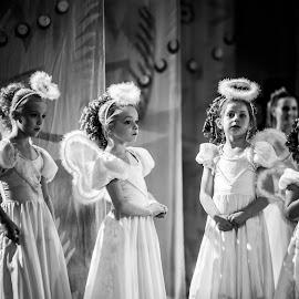 Little Stage Angel by Kellie Jones - Babies & Children Children Candids