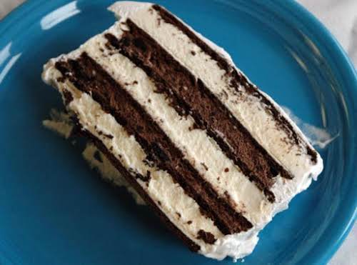 "Oreo and Fudge Ice Cream Cake ""This is a HUGE hit in our..."