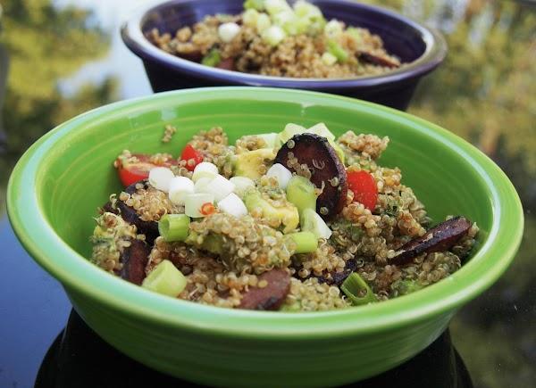 Chourico And Quinoa Salad Recipe