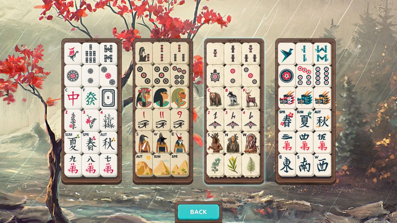 Mahjong Treasures- screenshot