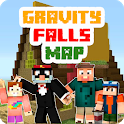Gravity Falls Map for MCPE icon