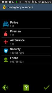 Sentinella Emergency Call Free - náhled