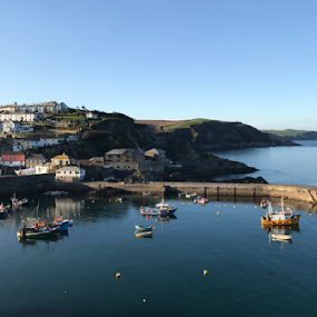 Magical Mevagissey by ADW Photography - City,  Street & Park  Vistas ( #cornwall #mevagissey #landscape #waterscape #iphonography #iphonex )