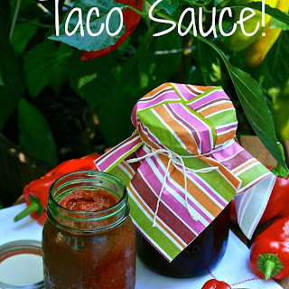 Roasted Red Pepper & Tomato Taco Sauce