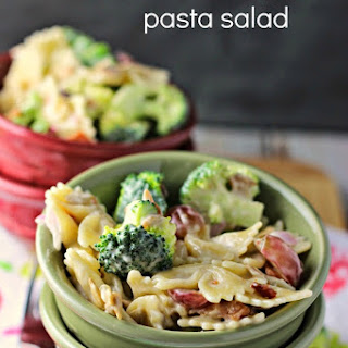 Broccoli and Grape Pasta Salad.