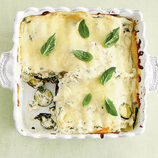Zucchini-and-Spinach Lasagna.