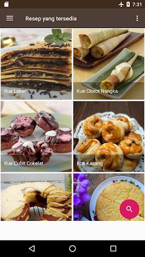 Screenshot 1 Resep Kue Lengkap