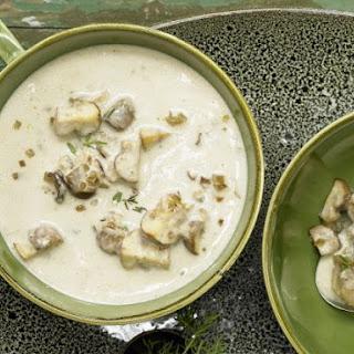 Smarter Creamy Mushroom Soup