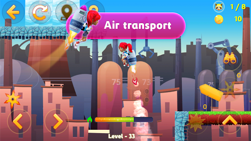 Tricky Liza: Adventure Platformer Game Offline 2D screenshots 14