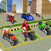 Tricky Bike Addictive Parking Master 3D 🏍️
