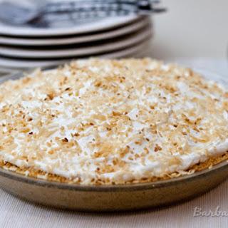 Coconut Cream Pie in a Shortbread Crumb Crust
