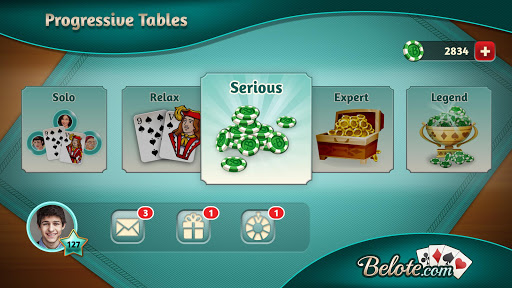 Belote.com - Free Belote Game 2.0.47 screenshots {n} 5