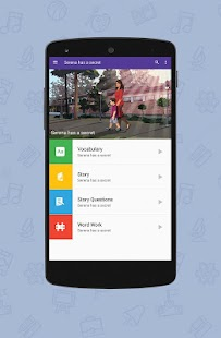 Amrita Learning - Reading App - náhled