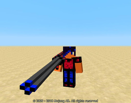 New Weapons Mod for Minecraft 1.9.80 screenshots 2
