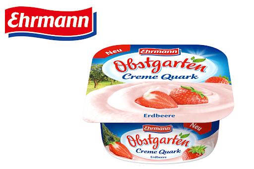 Bild für Cashback-Angebot: Obstgarten CremeQuark Erdbeere