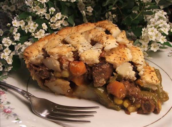 Tender Beef Pot Pie With Thyme & Pepper Pastry Recipe