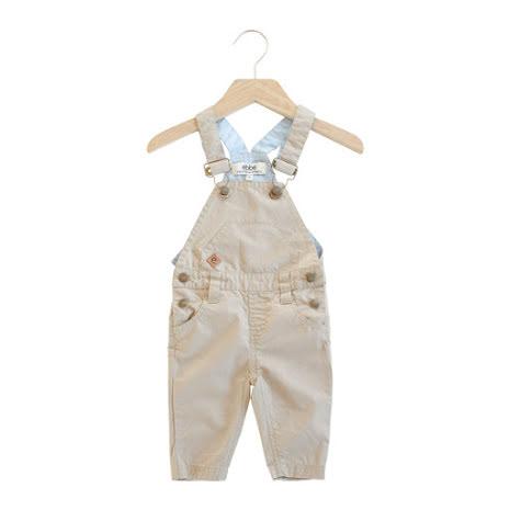 Sabbia - Beige hängselbyxor till barn & baby