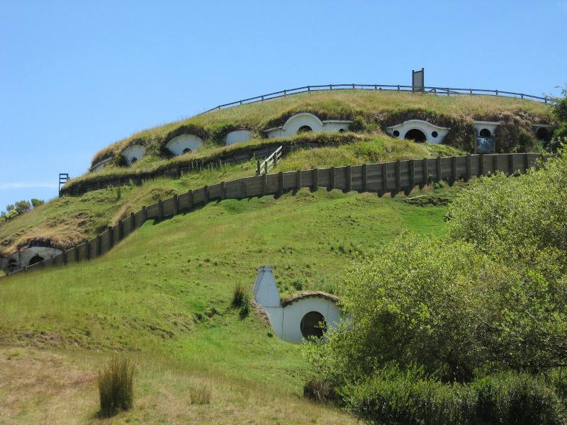 Photo: Hobbiton, near Matamata (remains of set from Lord of the Rings)