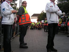 Photo: Wachten voor de start! ik mag samen met 3 andere rollers vooraan starten!