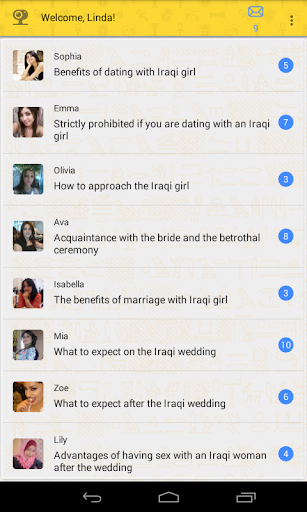 Dating with Iraq girls