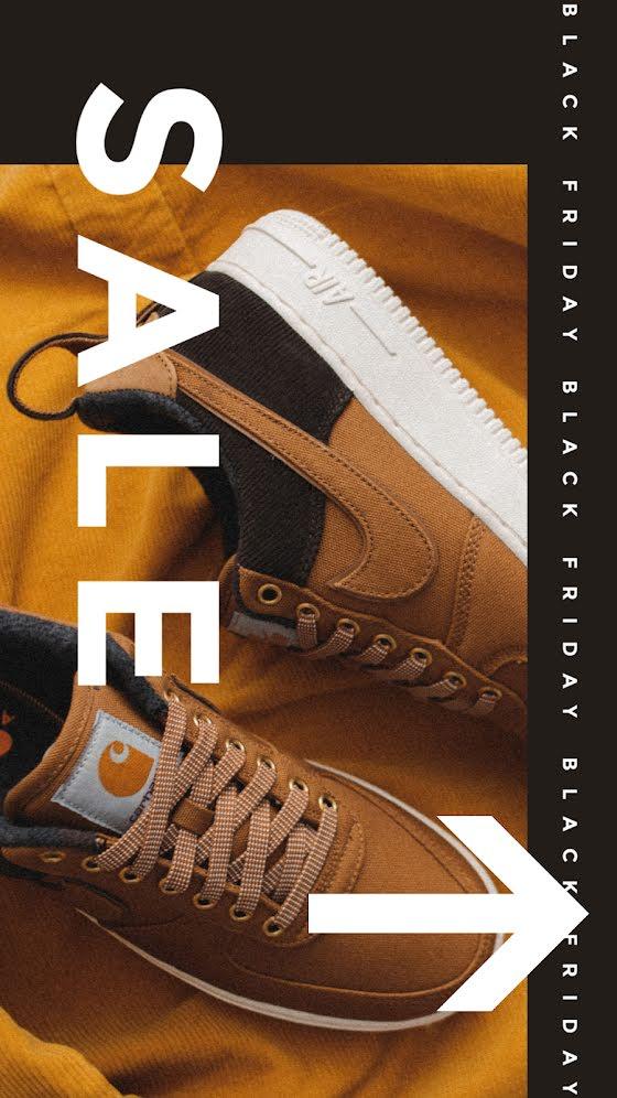 Black Friday Shoe Sale - Facebook Story Template