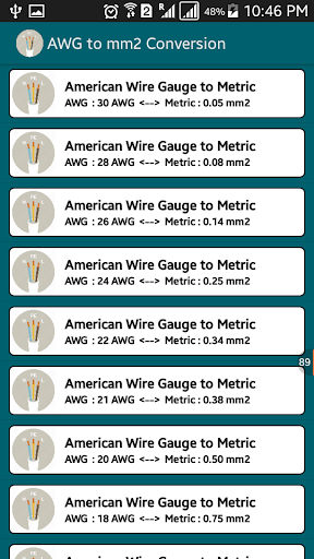 Voltage drop cable size calc apk download apkpure voltage drop cable size calc screenshot 2 greentooth Image collections