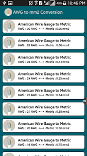 Voltage Drop Cable Size Calc Screenshot Thumbnail