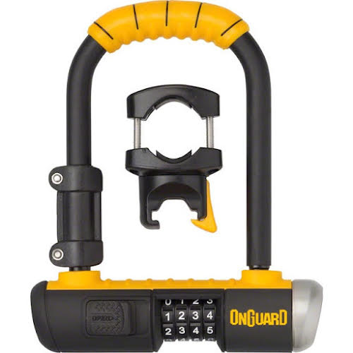 On Guard Combo Mini U-Lock 3.55 x 5.52""