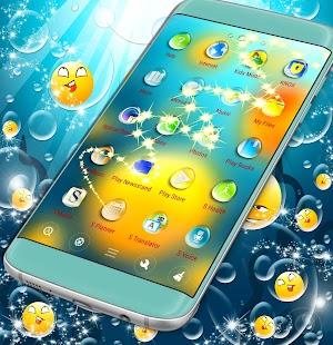 Spouštěč s tématem Emoji Water - náhled
