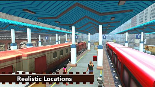 Real Indian Train Sim: Train games 2020 apkpoly screenshots 6