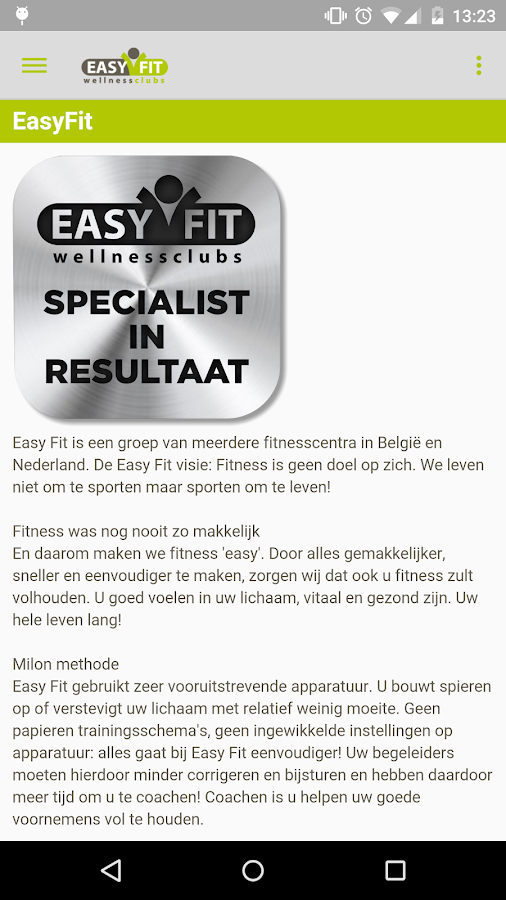 Easy Fit- screenshot