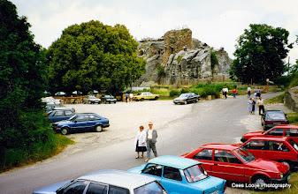 Photo: Blankenburg. Burchtruïne Regenstein.