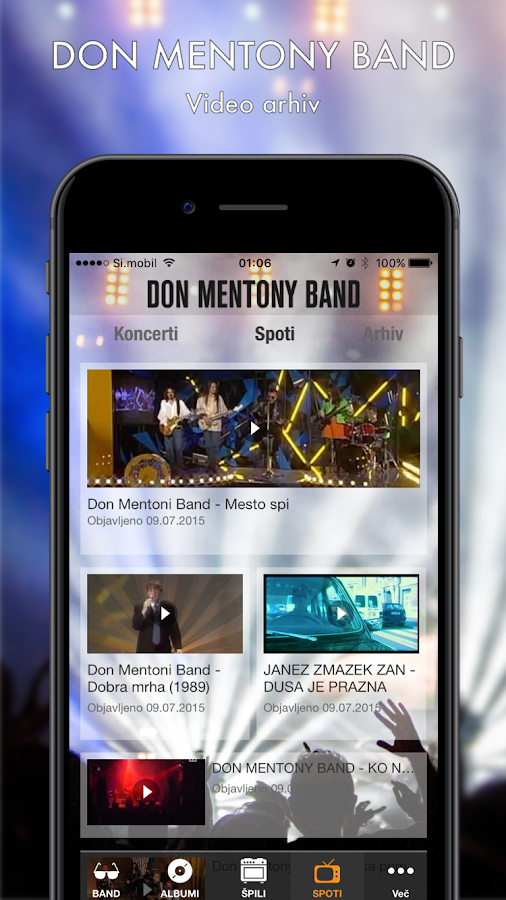 Don Mentony Band- screenshot