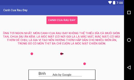 Canh Cua Rau Đay - náhled