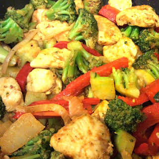 Curry Chicken Stir-Fry.