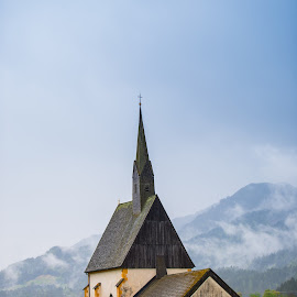 Old church by Stefan Sorean - Buildings & Architecture Public & Historical ( view, town, bavaria, old, church, germany, tourism, travel, landmark, europe, building )