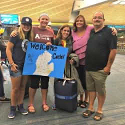 welcome Carla to Michigan