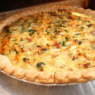 Bacon Potato Cheese Quiche Recipes