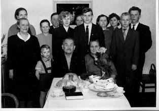 Photo: 1960 Teuvo Pienmäen häät, Sopukatu 23