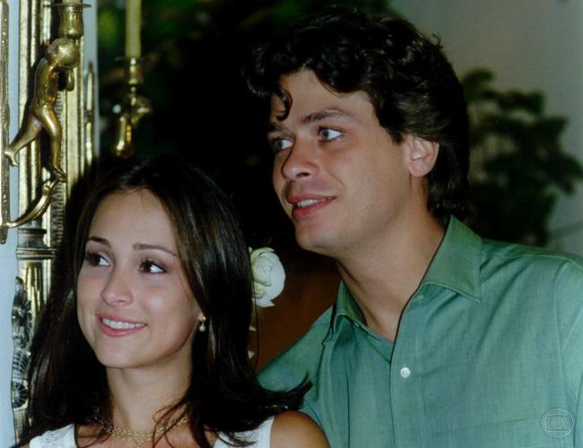 Gabriela Duarte e Fábio Assunção em Por Amor, 1997