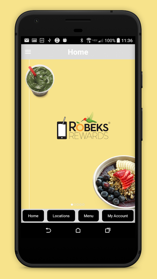 Robeks Rewards- screenshot