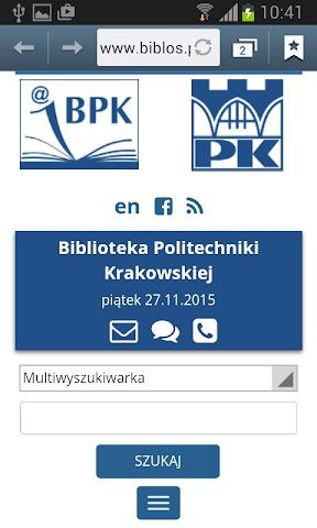android Politechnika Krakowska Screenshot 6
