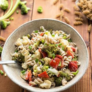 Roasted Broccoli Pasta Salad Recipe