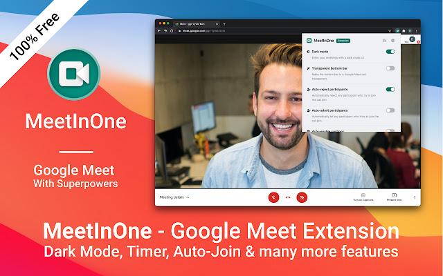 MeetInOne - enhance your Google Meet